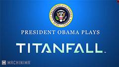 Obama Plays Titanfall