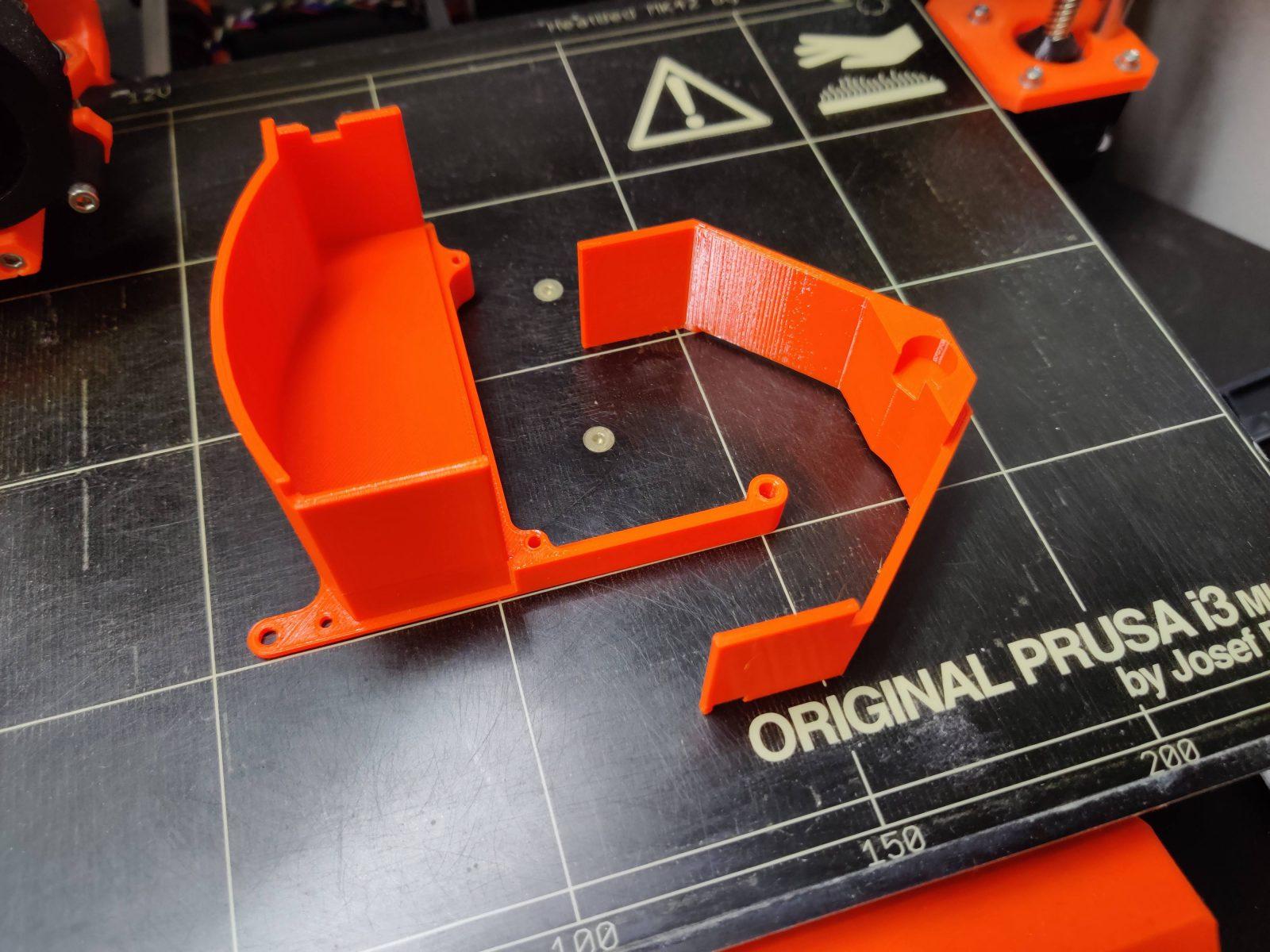 GDEMU 3D printed parts