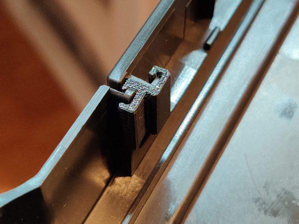 3DO CD-ROM Door Bracket installed