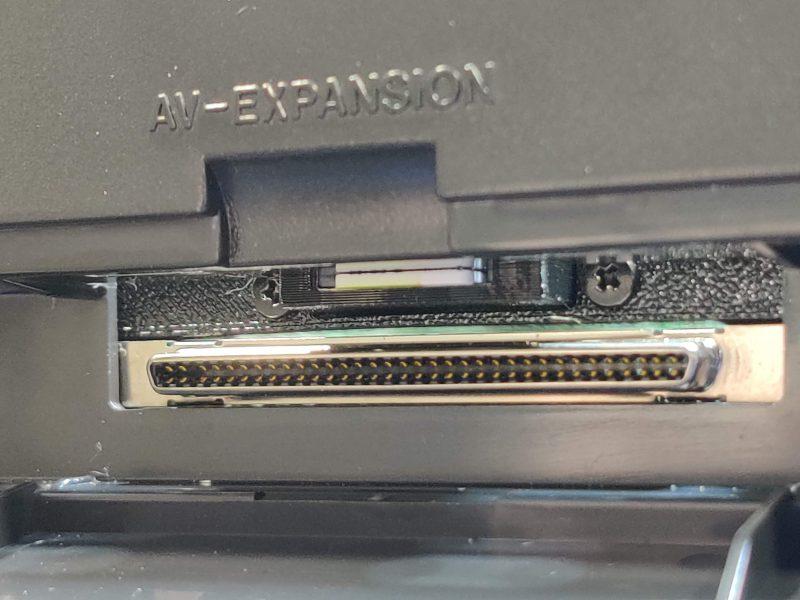3DO ODE SD Card Extension Bracket installed