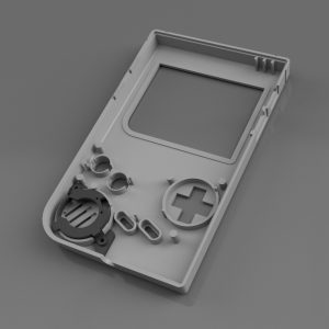 Gameboy Zero Speaker Bracket