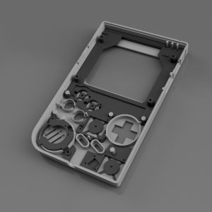 Gameboy Zero Full Bracket Set