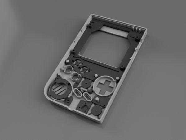 Gameboy Zero Full Bracket Set