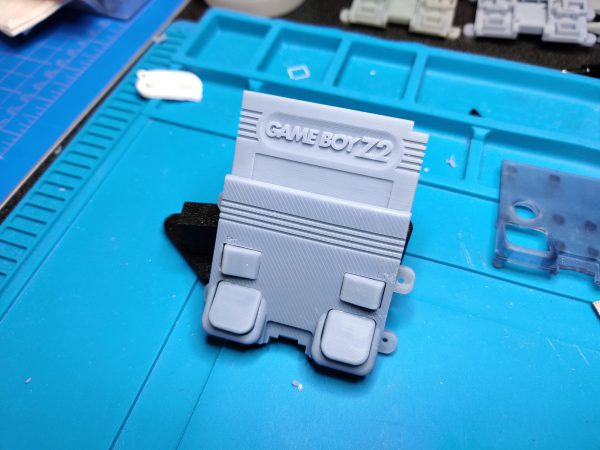 Gameboy Z2 Back Panel (Defects)