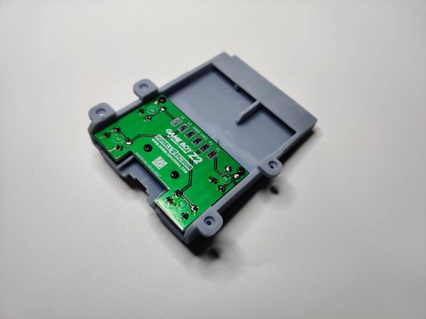Gameboy Zero Rear Button Housing v2 Gray back