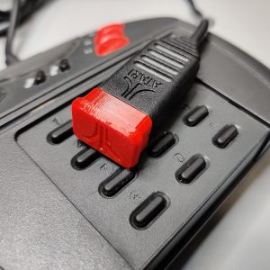 Atari Jaguar Controller Caps Red
