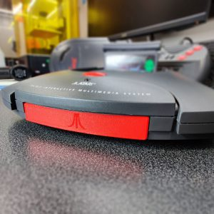 Atari Jaguar Controller Port Cover Installed