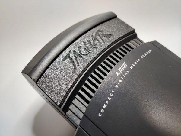 Atari Jaguar CD Cart Cover installed