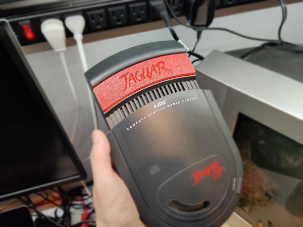Atari Jaguar CD Cart Cover Red