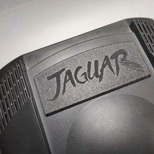 Atari Jaguar Dust Cover Installed