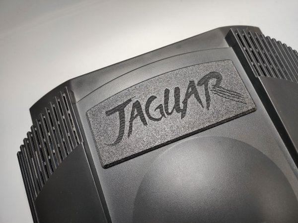 Atari Jaguar Dust Cover Installed