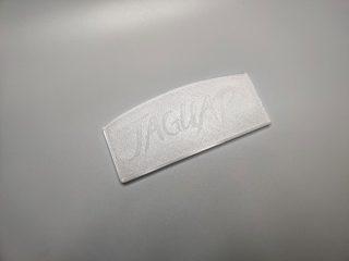 Atari Jaguar Dust Cover Crystal