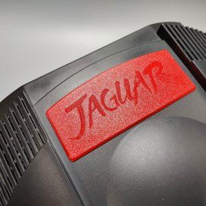 Atari Jaguar Dust Cover Red